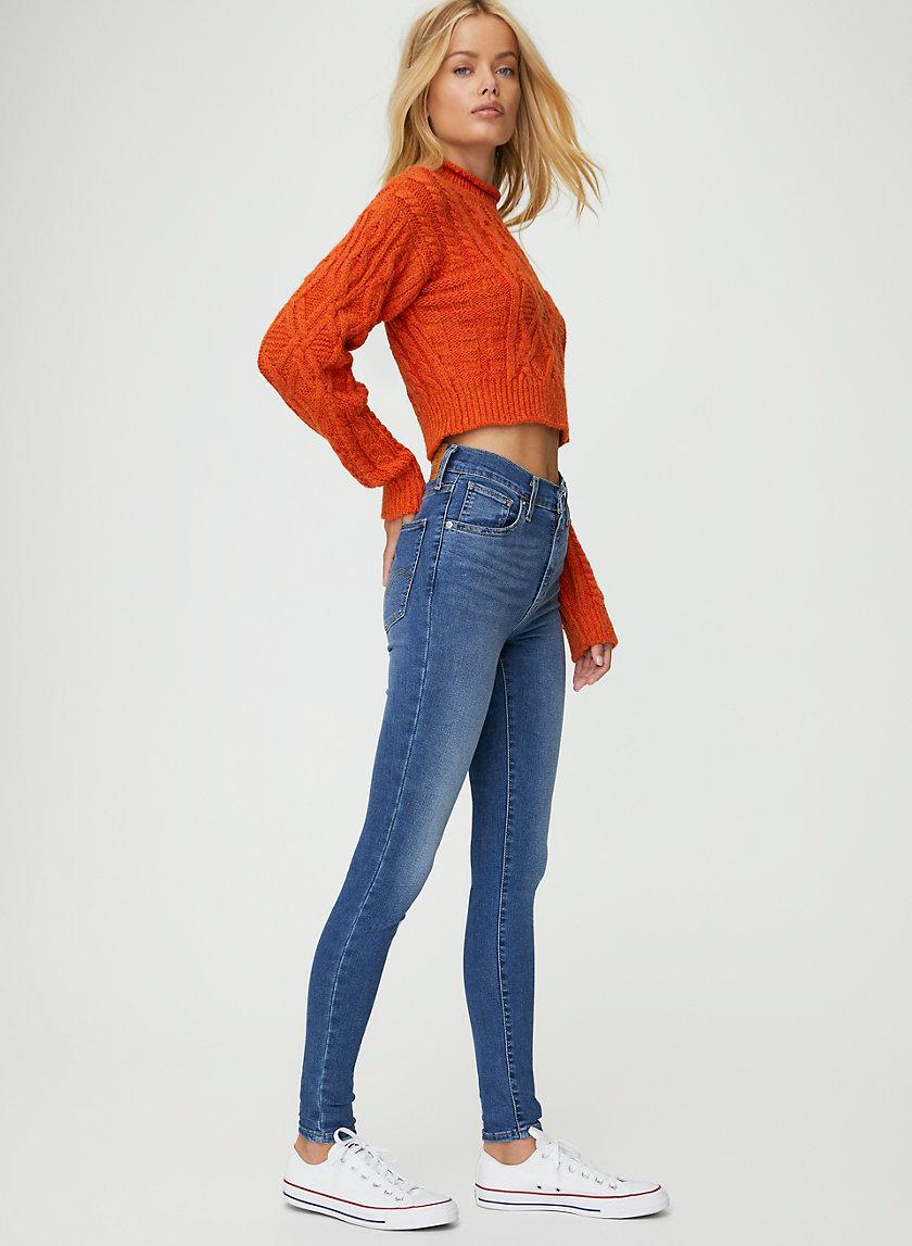 MILE HIGH SUPER SKINNY - Super high-rise skinny jeans