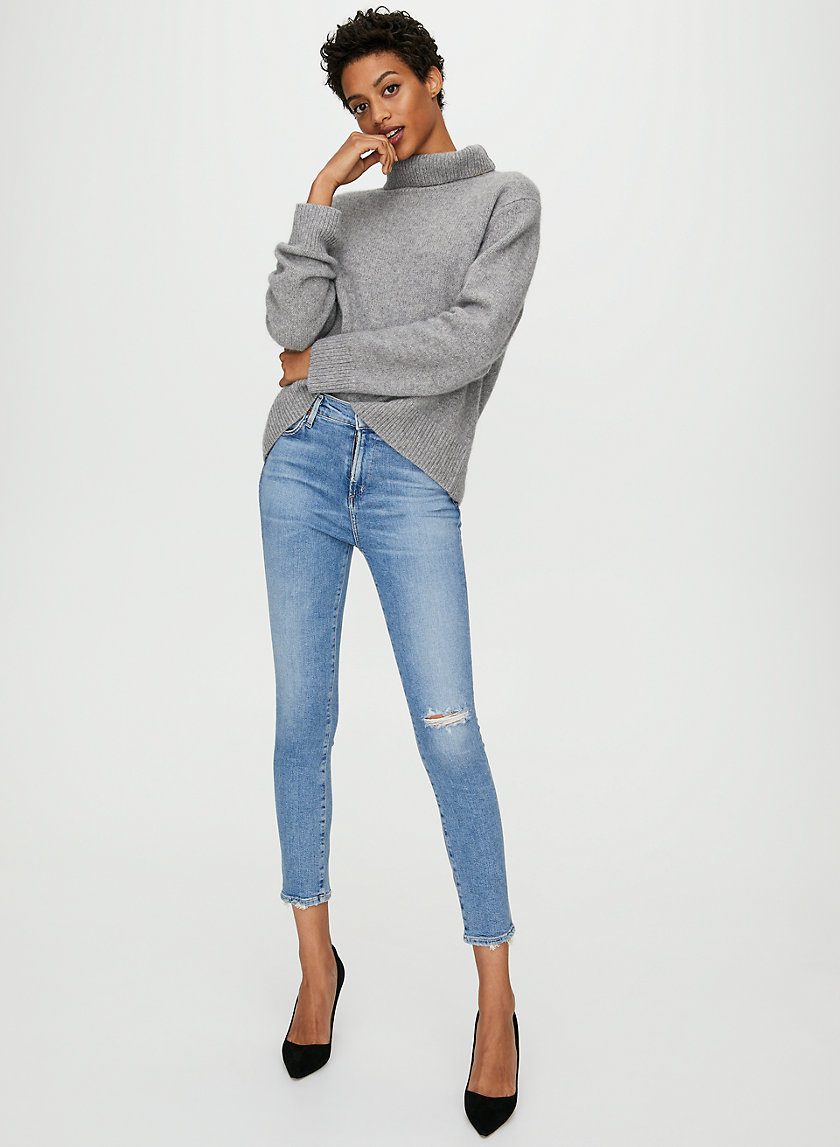 ROCKET CROP KEEPER - Cropped skinny jean