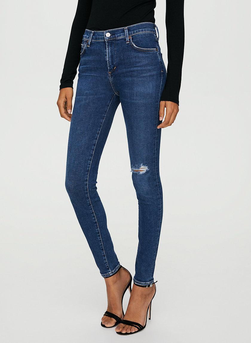 ROCKET SWING LOW - Mid-rise skinny jean