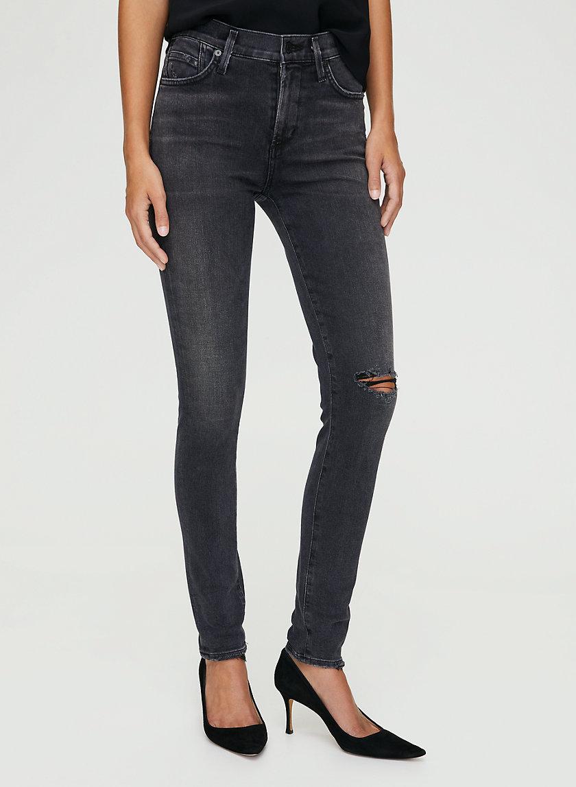 ROCKET LITHE - Mid-rise skinny jean
