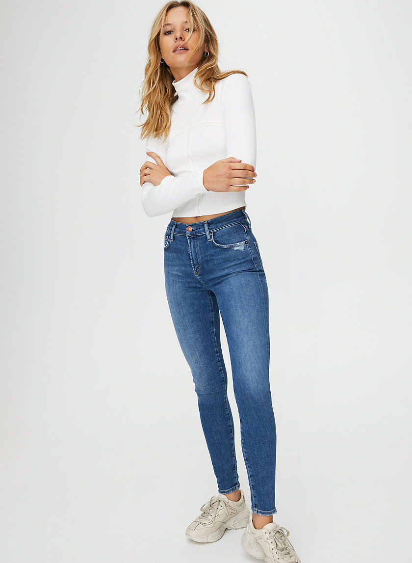 SOPHIE ANKLE TAME - High-waisted skinny jean