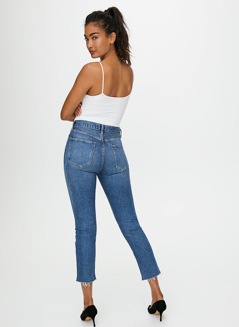 RILEY DISGUISE - High-waisted straight leg jean