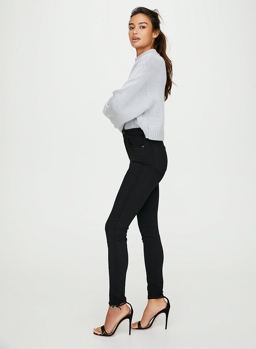 KENDALL BLACK - High-waisted skinny jean
