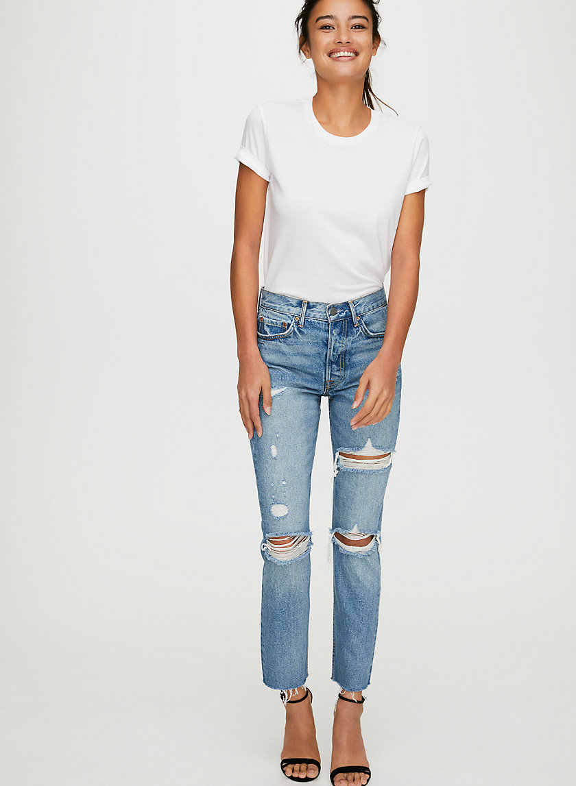 KAROLINA A LITTLE MORE LOVE - High-waisted skinny jean