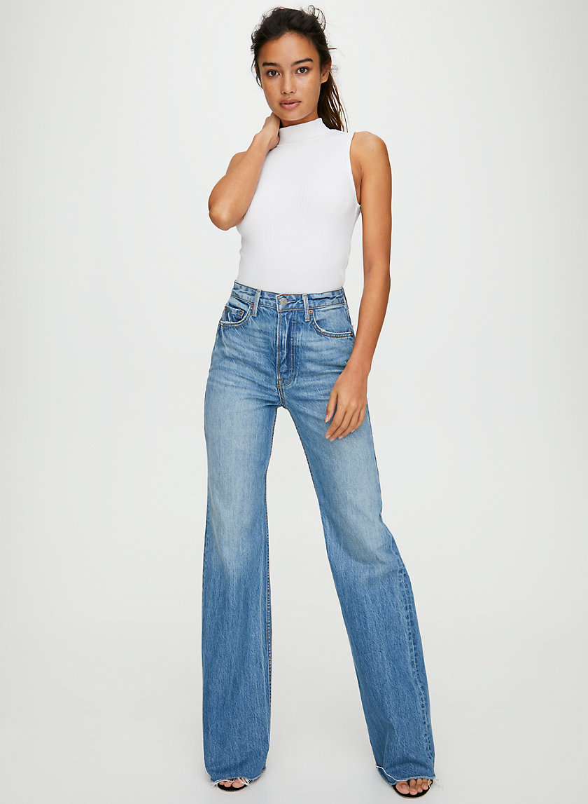 CARLA OTHER SIDE - High-waisted bell bottoms