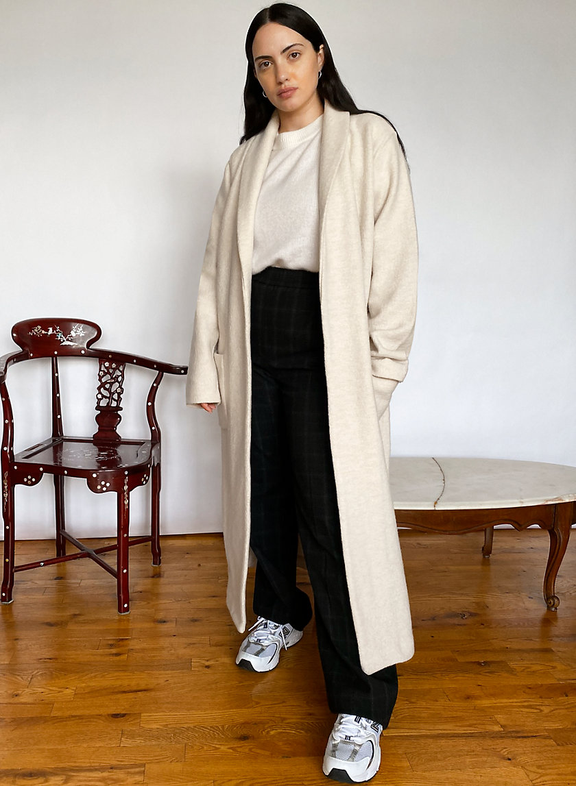 LUXE LOUNGE JACKET - Long sweater jacket