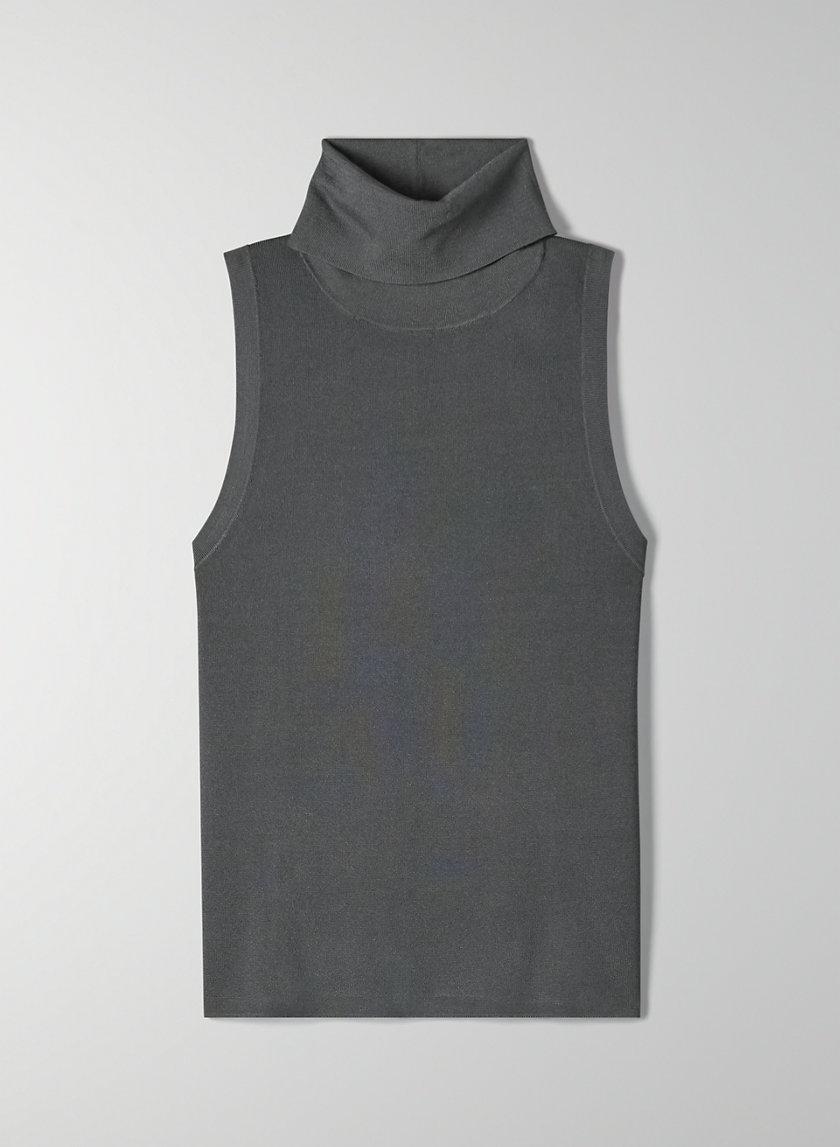 CRAVAN TURTLENECK - Sleeveless knit turtleneck