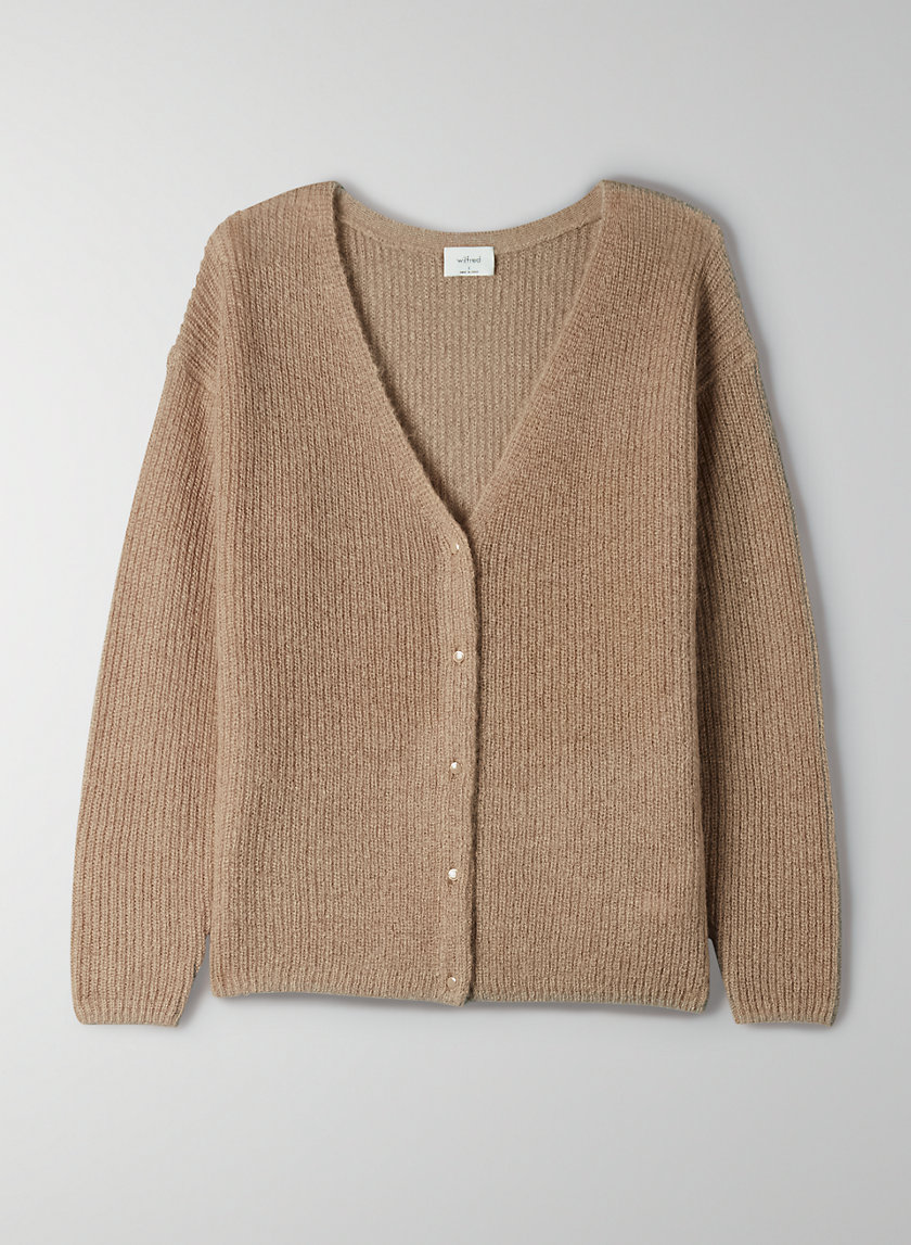 FRONT TO BACK CARDIGAN - Reversible V-neck cardigan