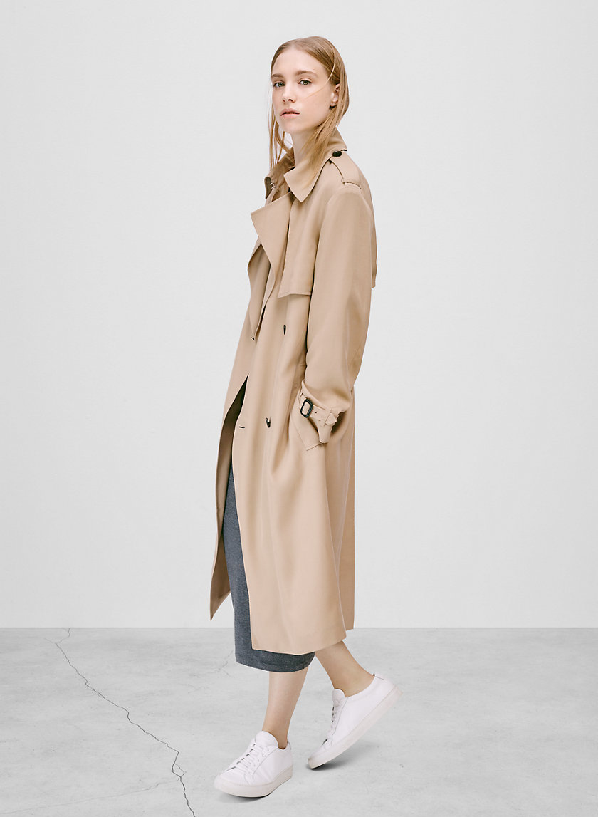 Babaton NICKY TRENCH COAT | Aritzia