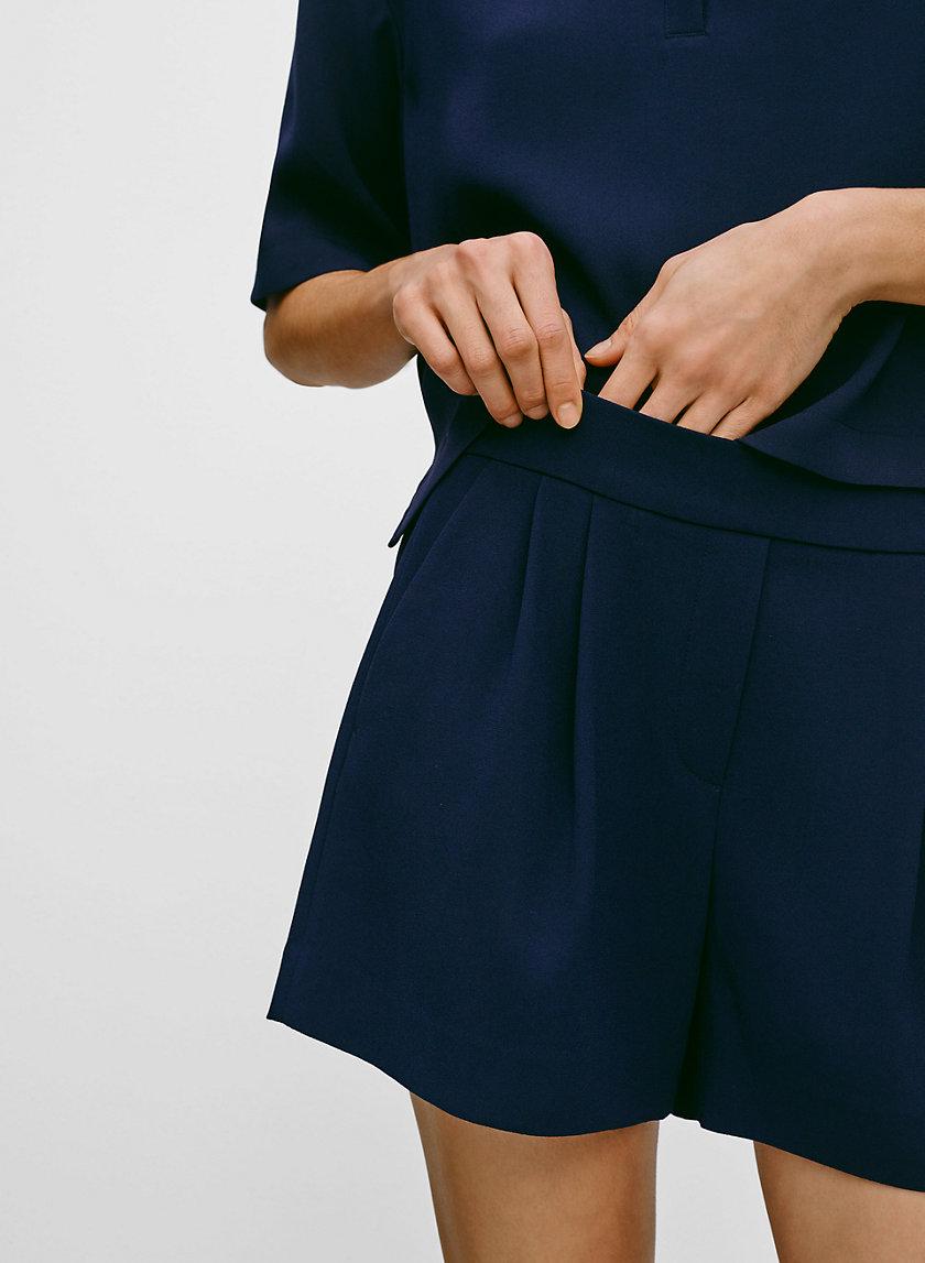 COHEN SHORT TERADO - Pleated dress shorts
