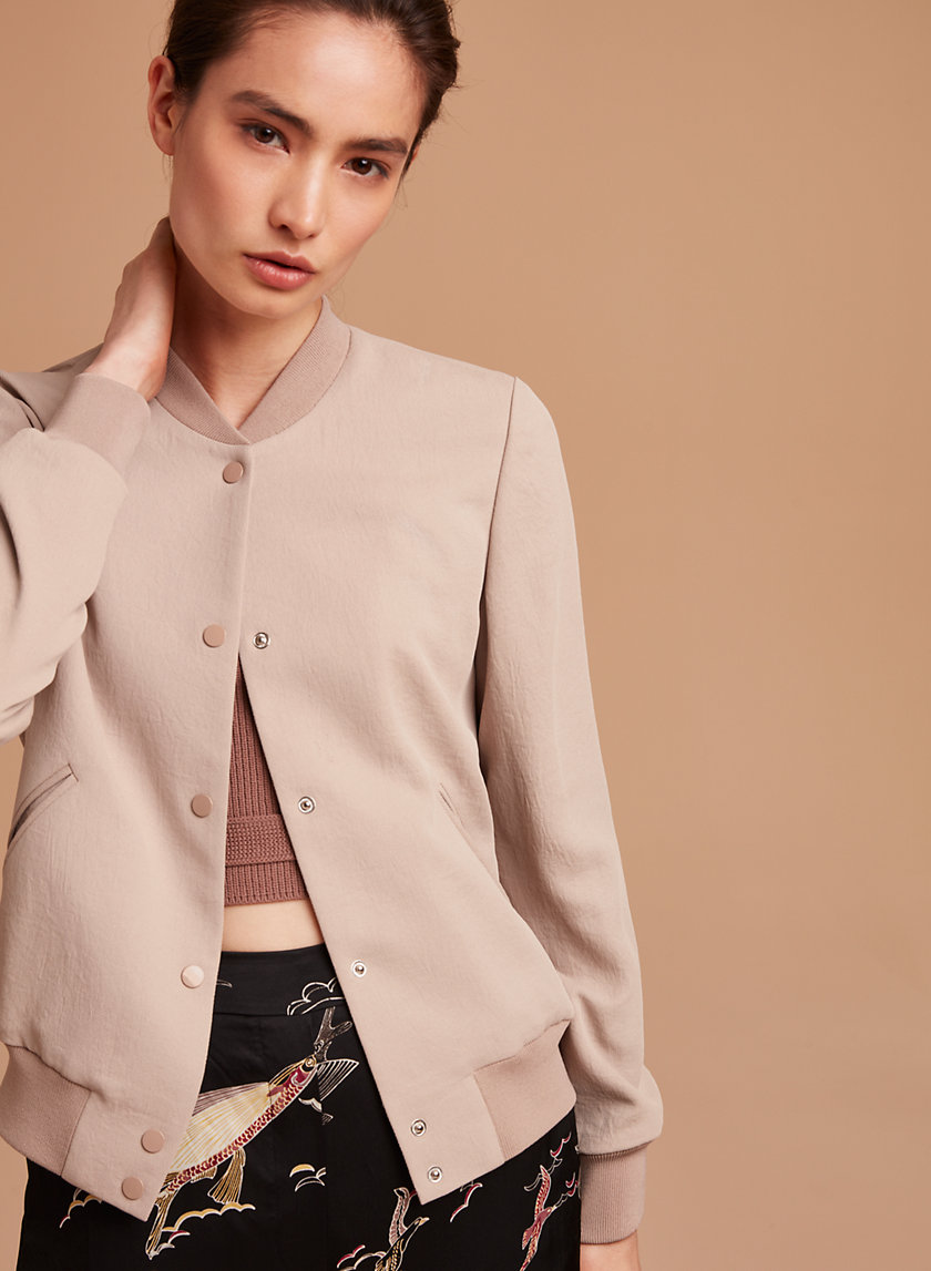 Wilfred POUSSIN BOMBER   Aritzia