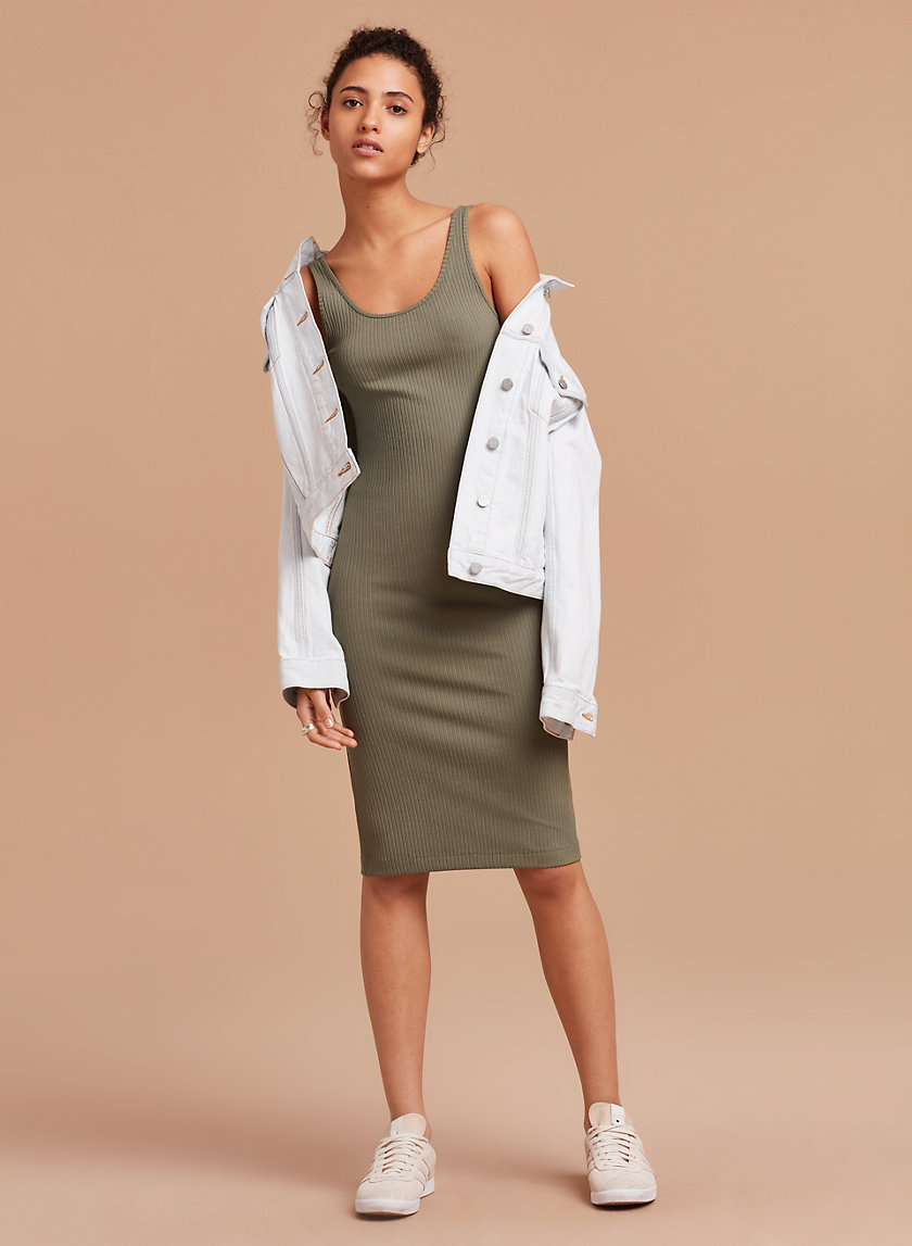 Wilfred Free MURDOCK DRESS | Aritzia