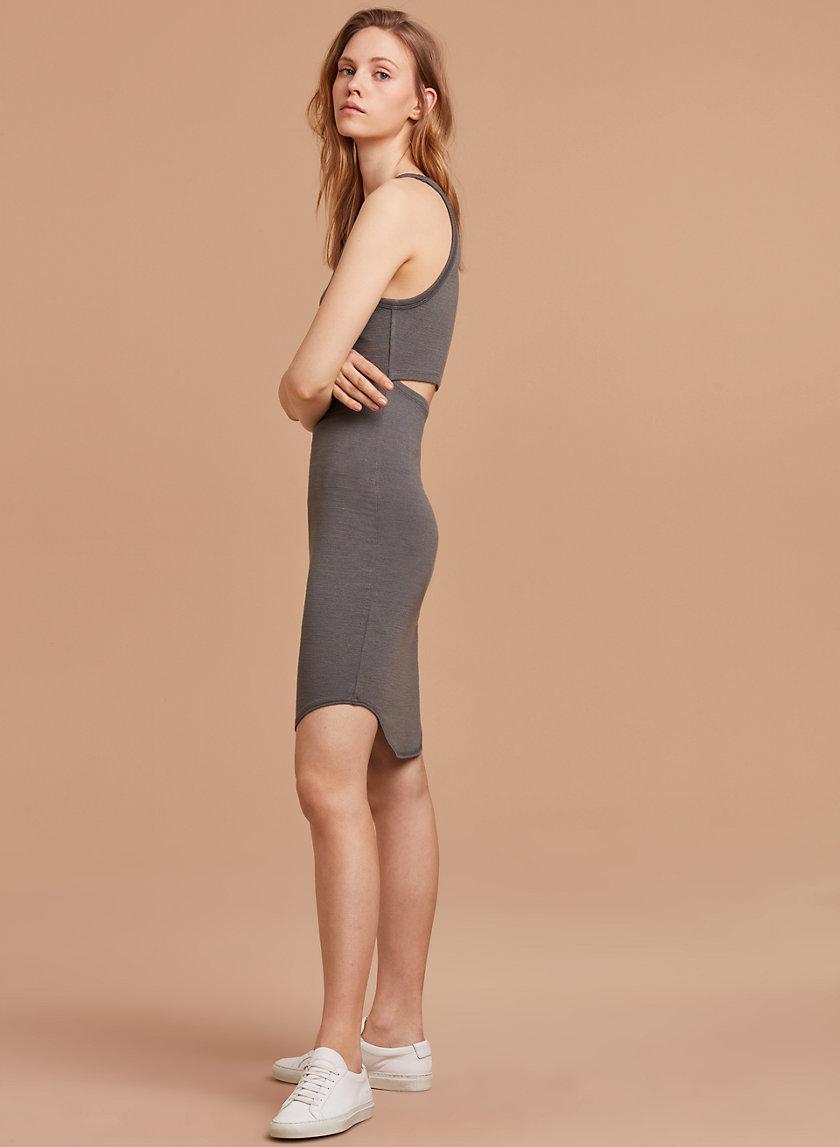 YASMIN DRESS - Bodycon cut-out tank dress