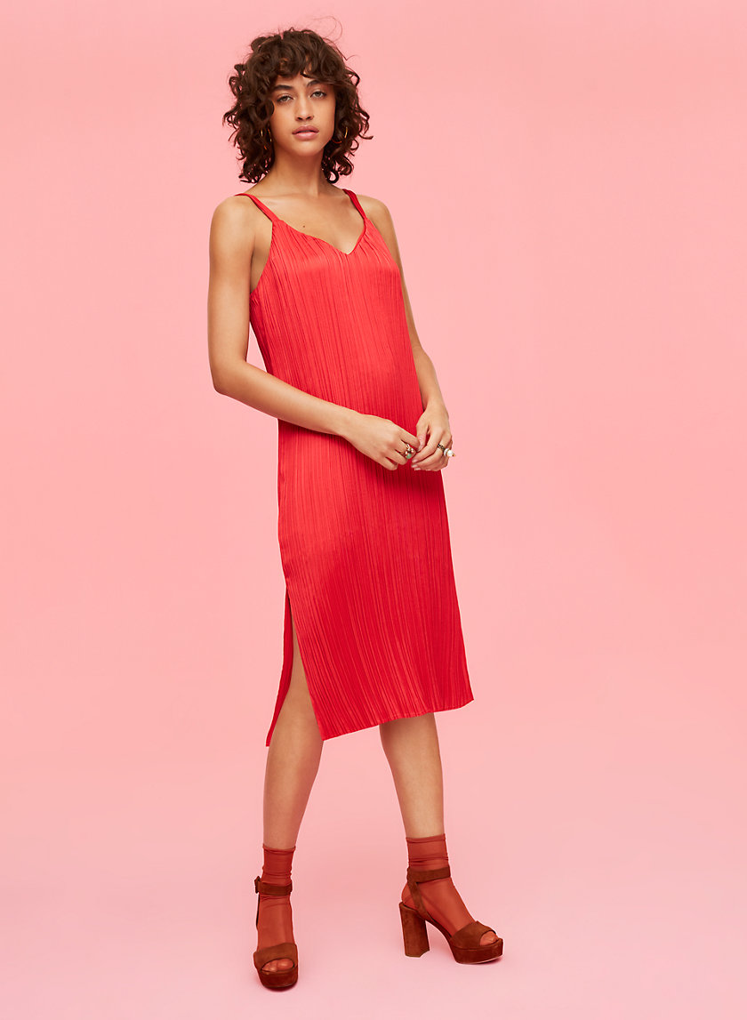 Little Moon RAPHIA DRESS | Aritzia