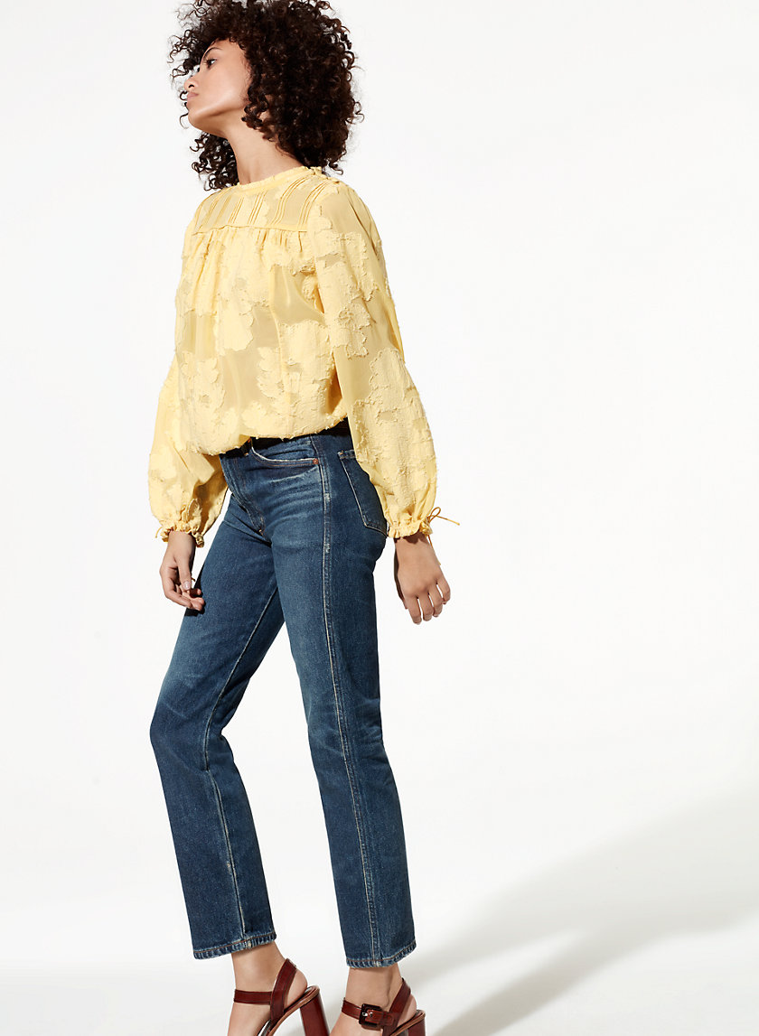Wilfred/Citizens of Humanity LIV VINTAGE BLUE | Aritzia