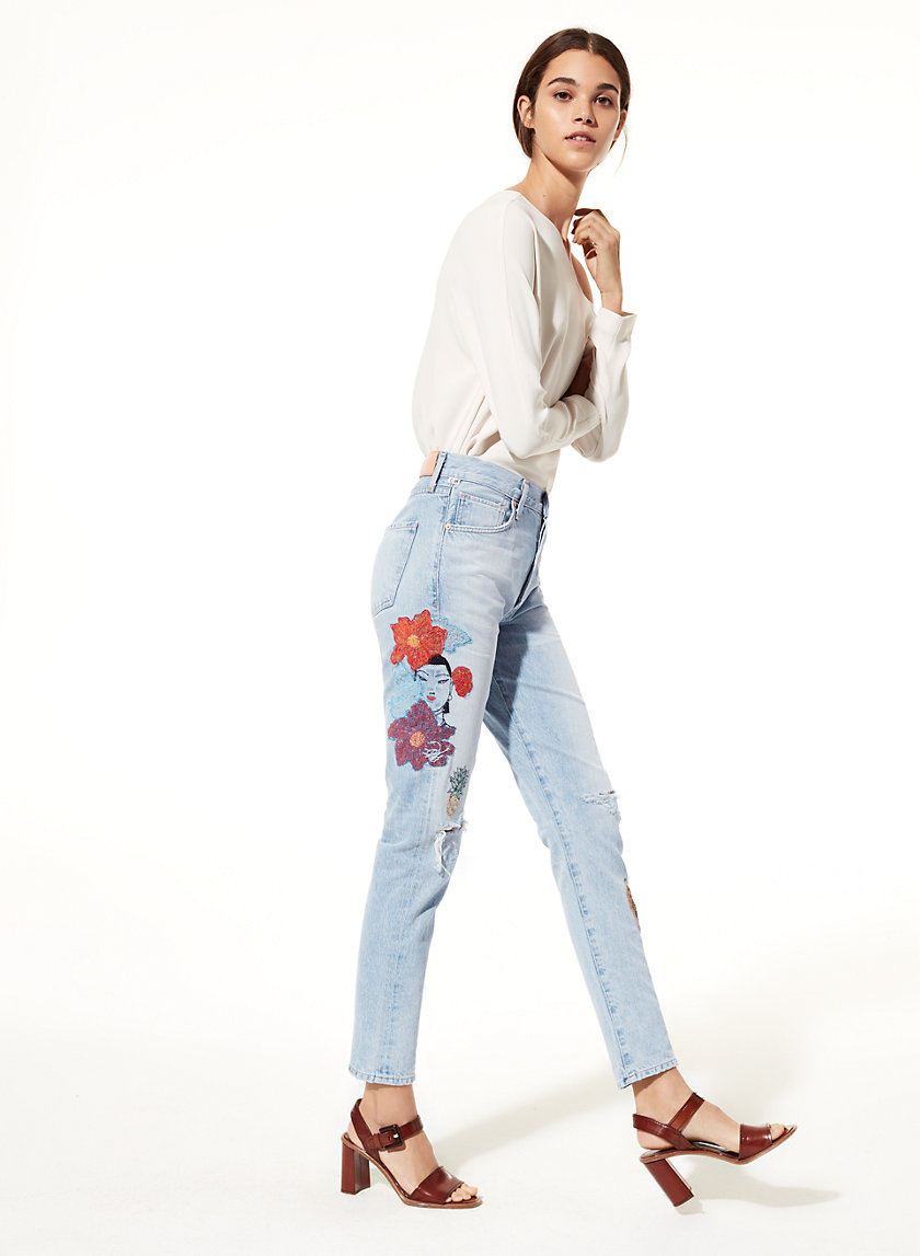 Citizens of Humanity LIYA ROCK ON TROPICAL | Aritzia