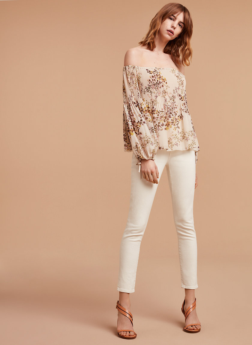 Wilfred/Citizens of Humanity CLEO CROP NATURAL | Aritzia