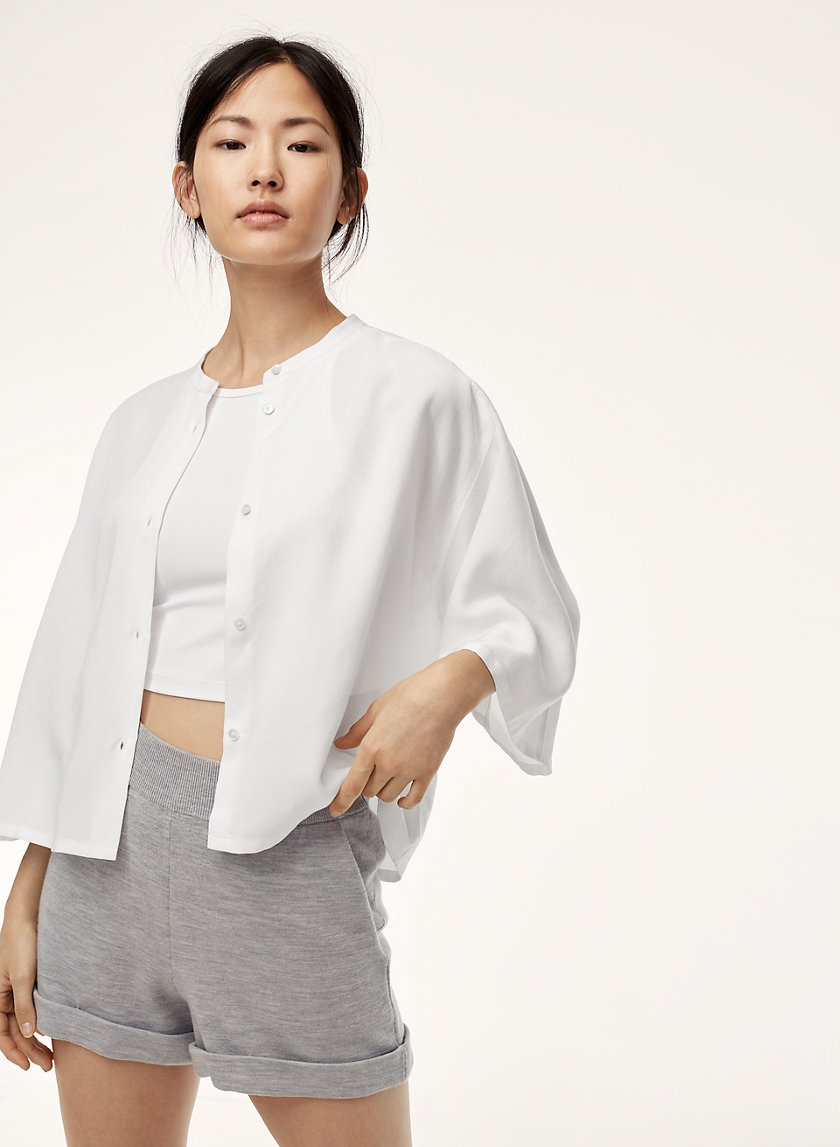 The Group by Babaton FOSTER SHIRT | Aritzia
