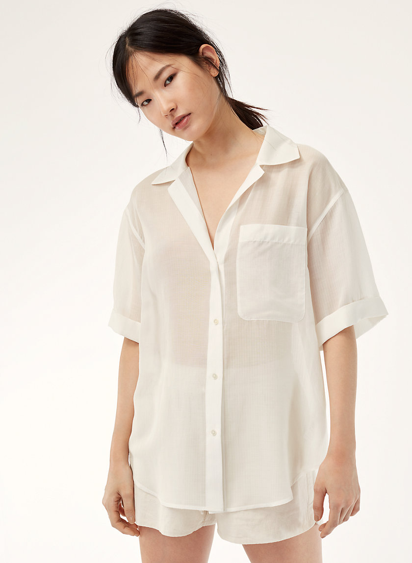 The Group by Babaton WITHERS BLOUSE | Aritzia