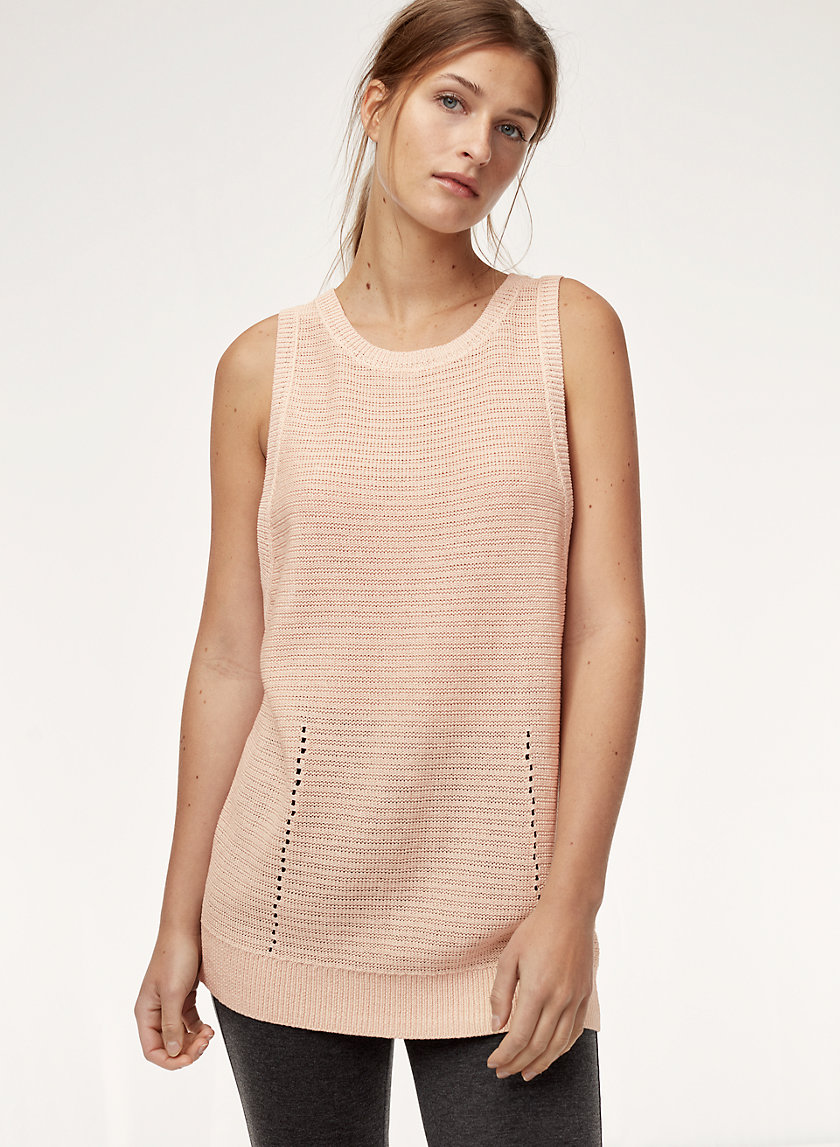 The Group by Babaton GARLAND KNIT TOP | Aritzia