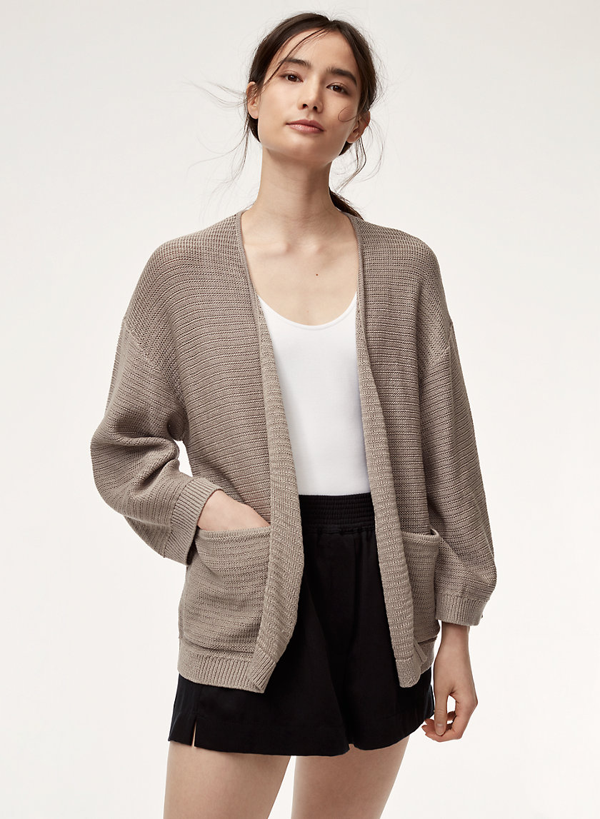 The Group by Babaton BEATRIX CARDIGAN | Aritzia