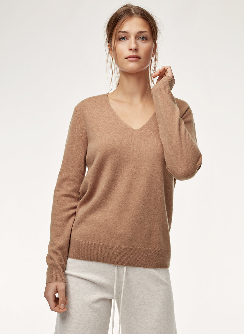 The Group by Babaton LUXE CASHMERE V-NECK | Aritzia