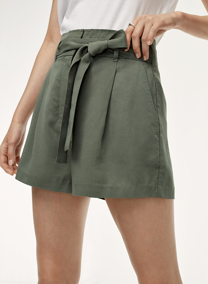 ANDERSON SHORT - High-waisted, paperbag shorts