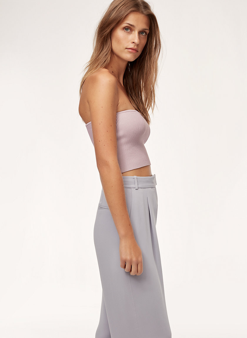ESSAMBA TUBE TOP - Cropped, knit tube top