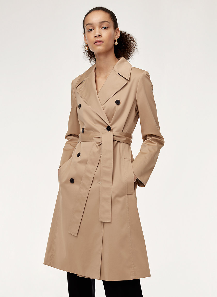 Babaton MODERN OLIVER TRENCH | Aritzia