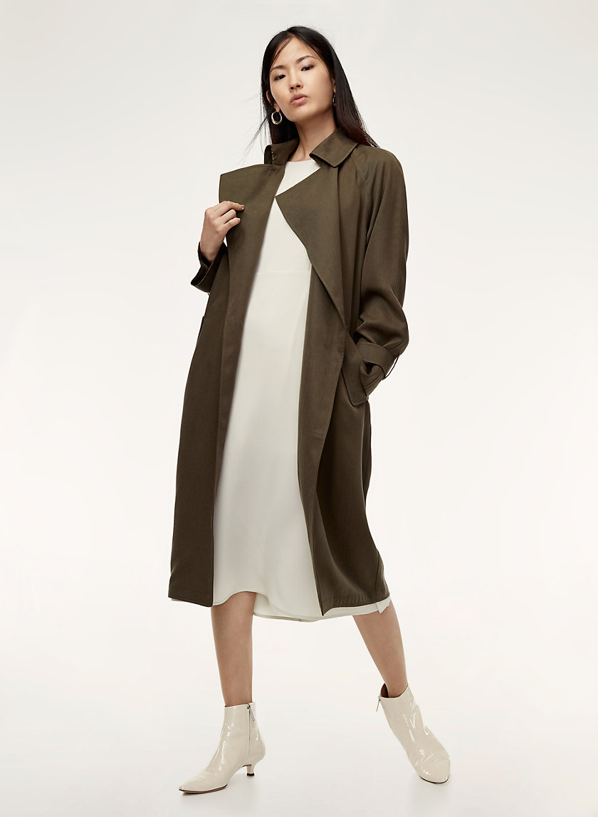 babaton lawson trench coat aritzia us