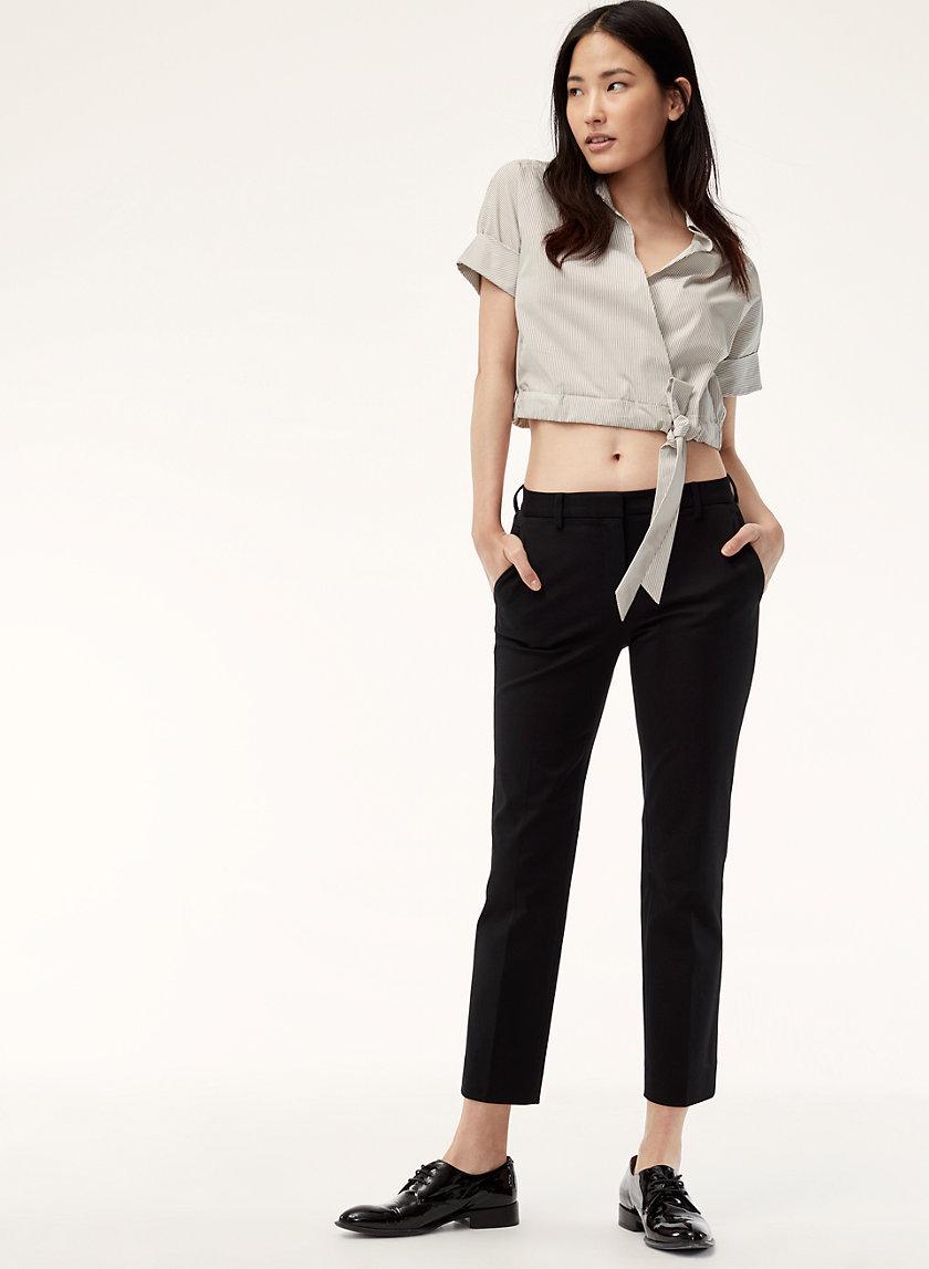 DAXTON PANT - Cropped dress pant