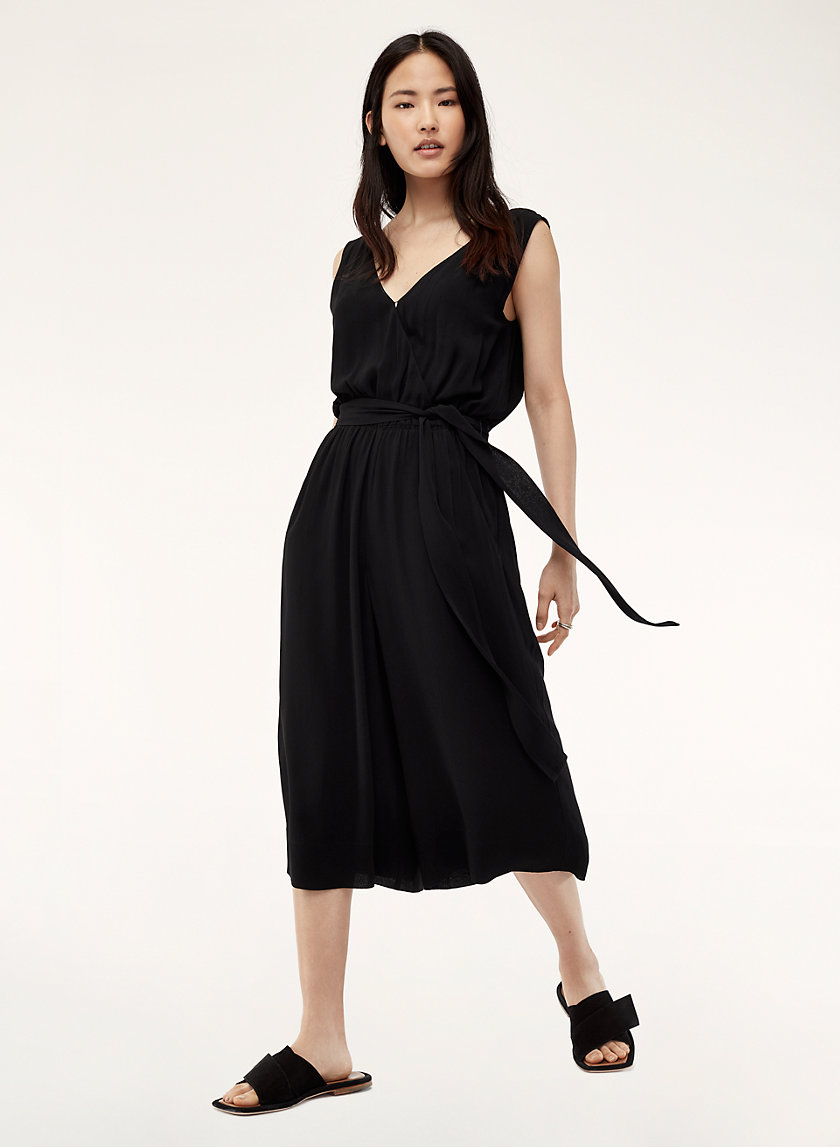 MAXIMILLIAN JUMPSUIT - Belted, wide-leg jumpsuit