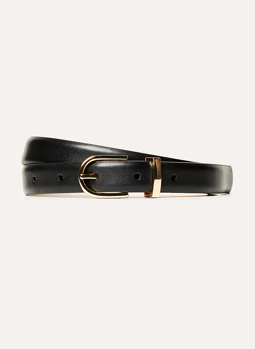 AMOS DRESS BELT - Smooth leather belt