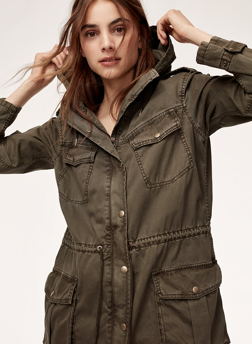 Azure Skies TROOPER JACKET | Aritzia