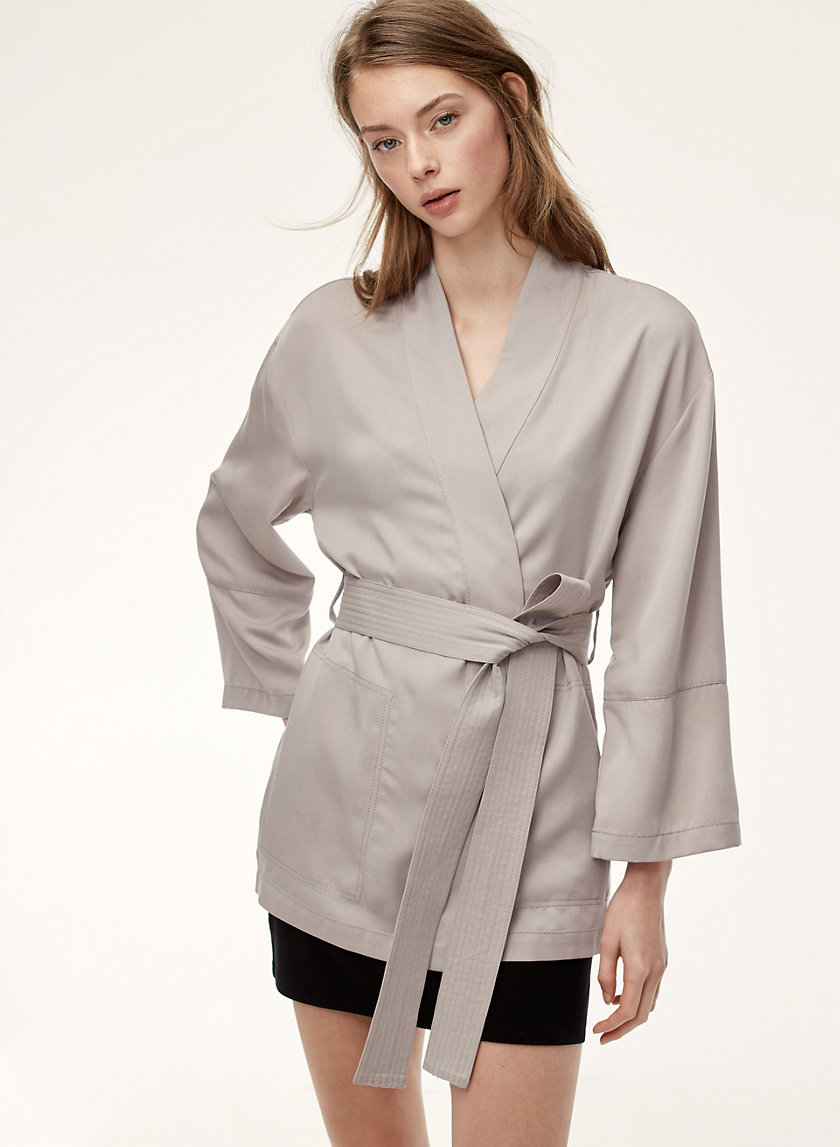 Sunday Best IGBY ROBE JACKET | Aritzia