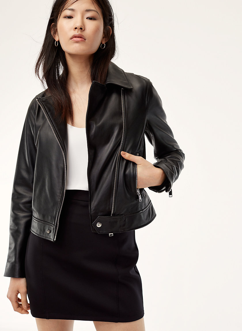 Talula HENDRIX LEATHER BIKER | Aritzia