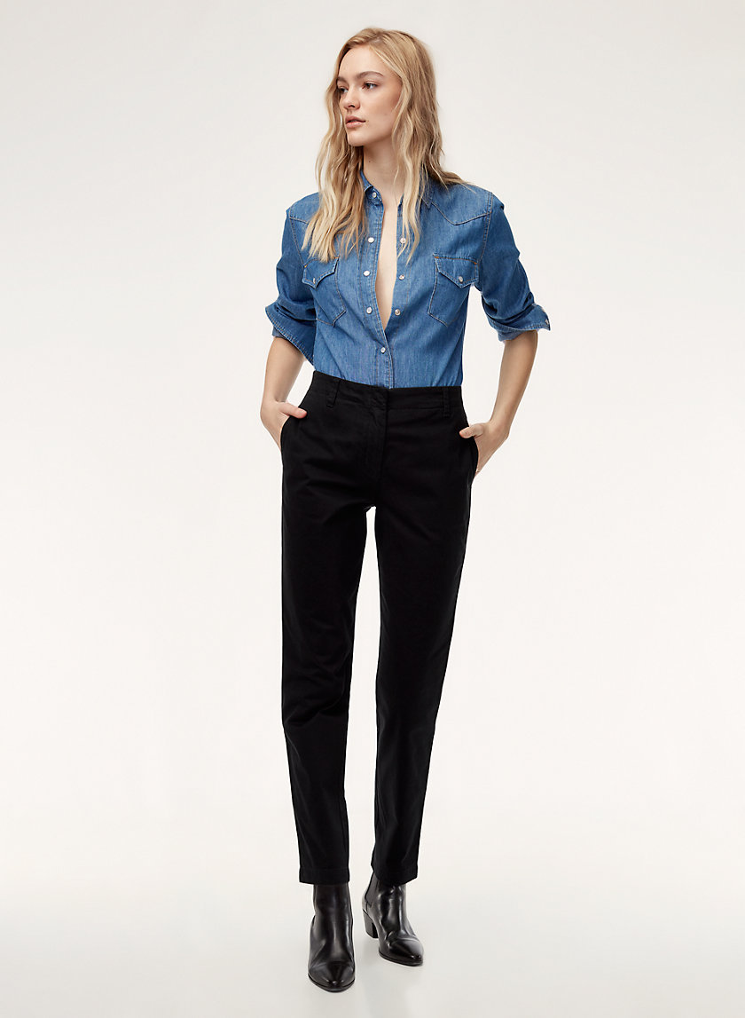 Talula FITTED CHINO | Aritzia