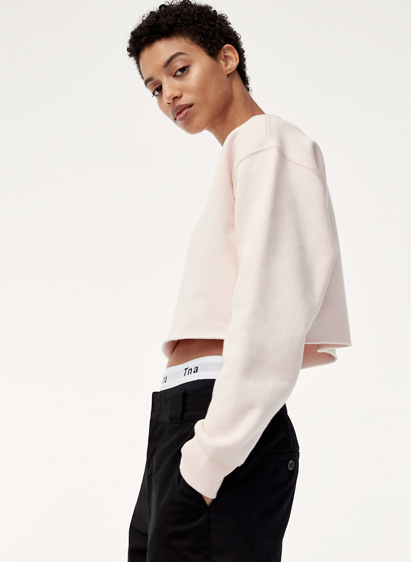 Tna PERFECT CREW - CROP | Aritzia