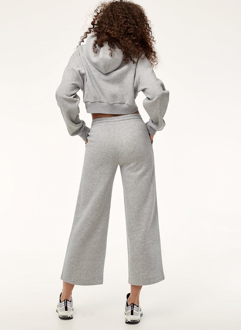 SHARI PANT - Cropped, wide-leg sweatpants