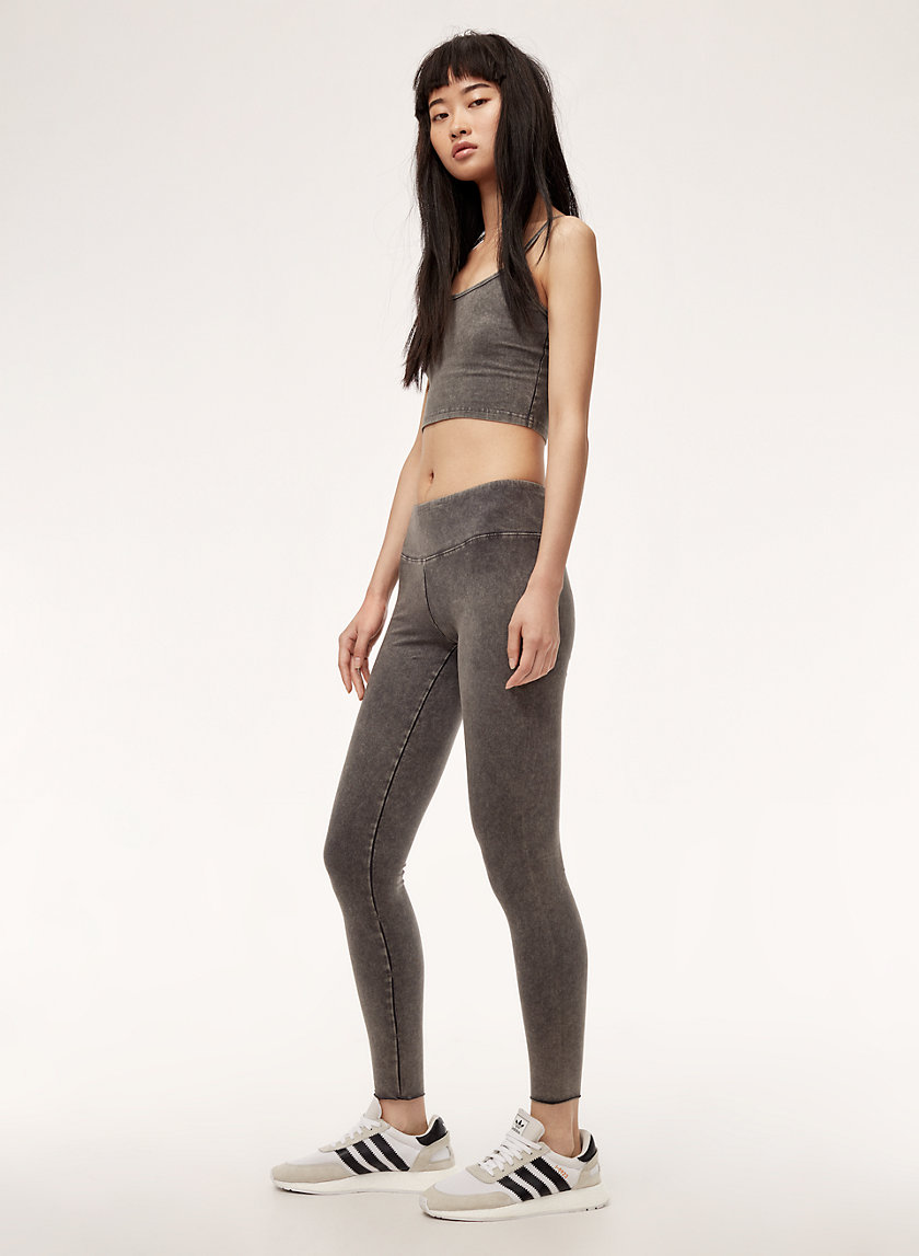 EQUATOR LEGGING - Denim-washed legging