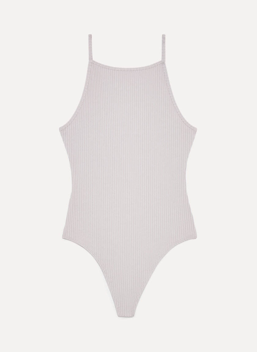 ANNECY BODYSUIT - Ribbed, square-neck bodysuit