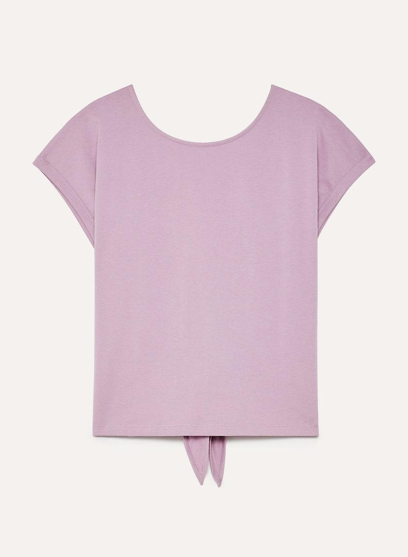 ADELA T-SHIRT - Tie-back t-shirt