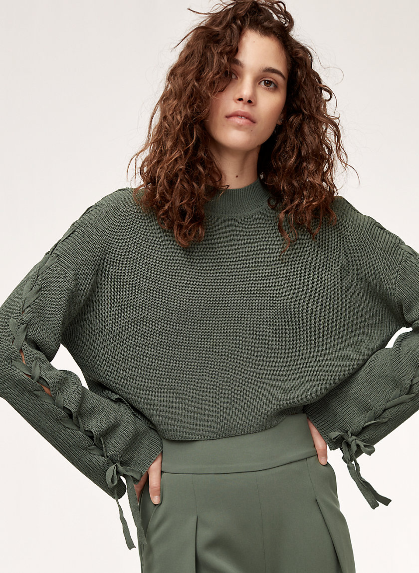 Wilfred SALOME SWEATER TIED | Aritzia