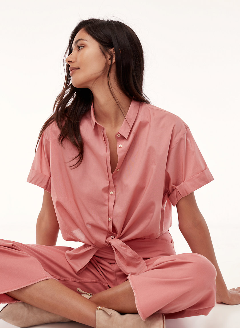 Community KNOTTED SHIRT | Aritzia