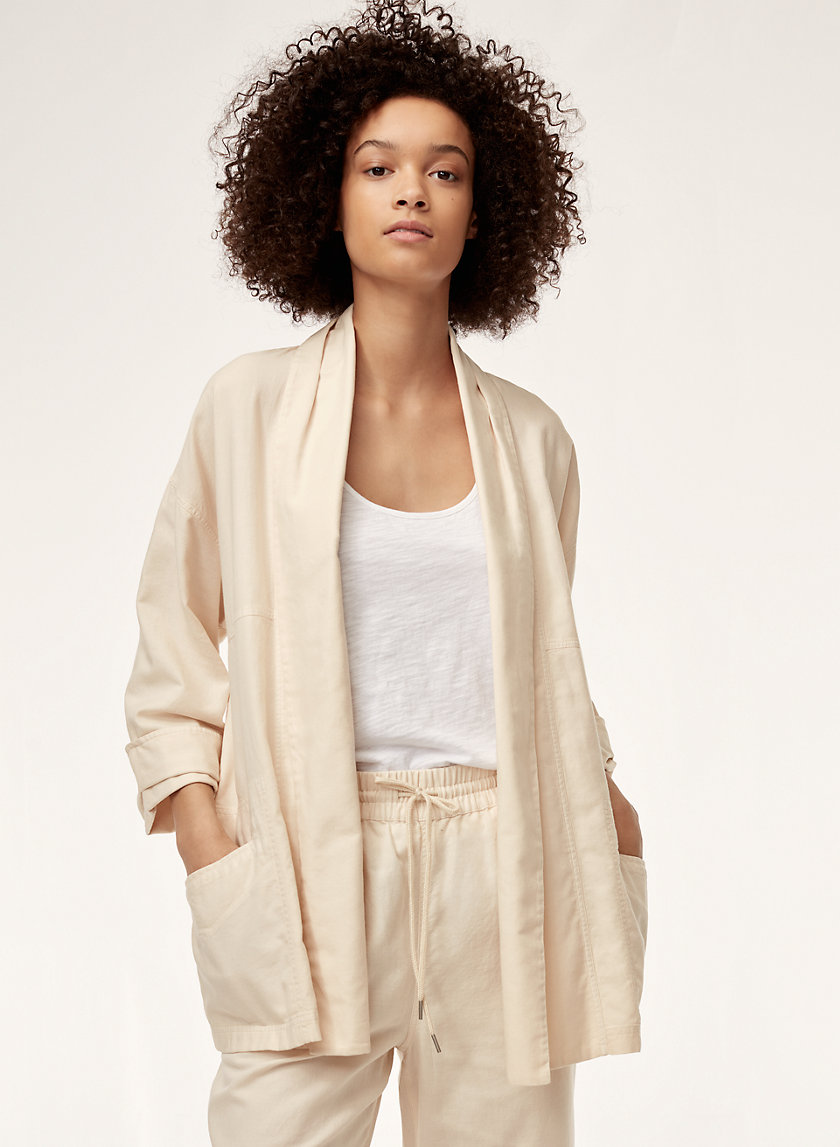 Community SHAWL COLLAR JACKET | Aritzia