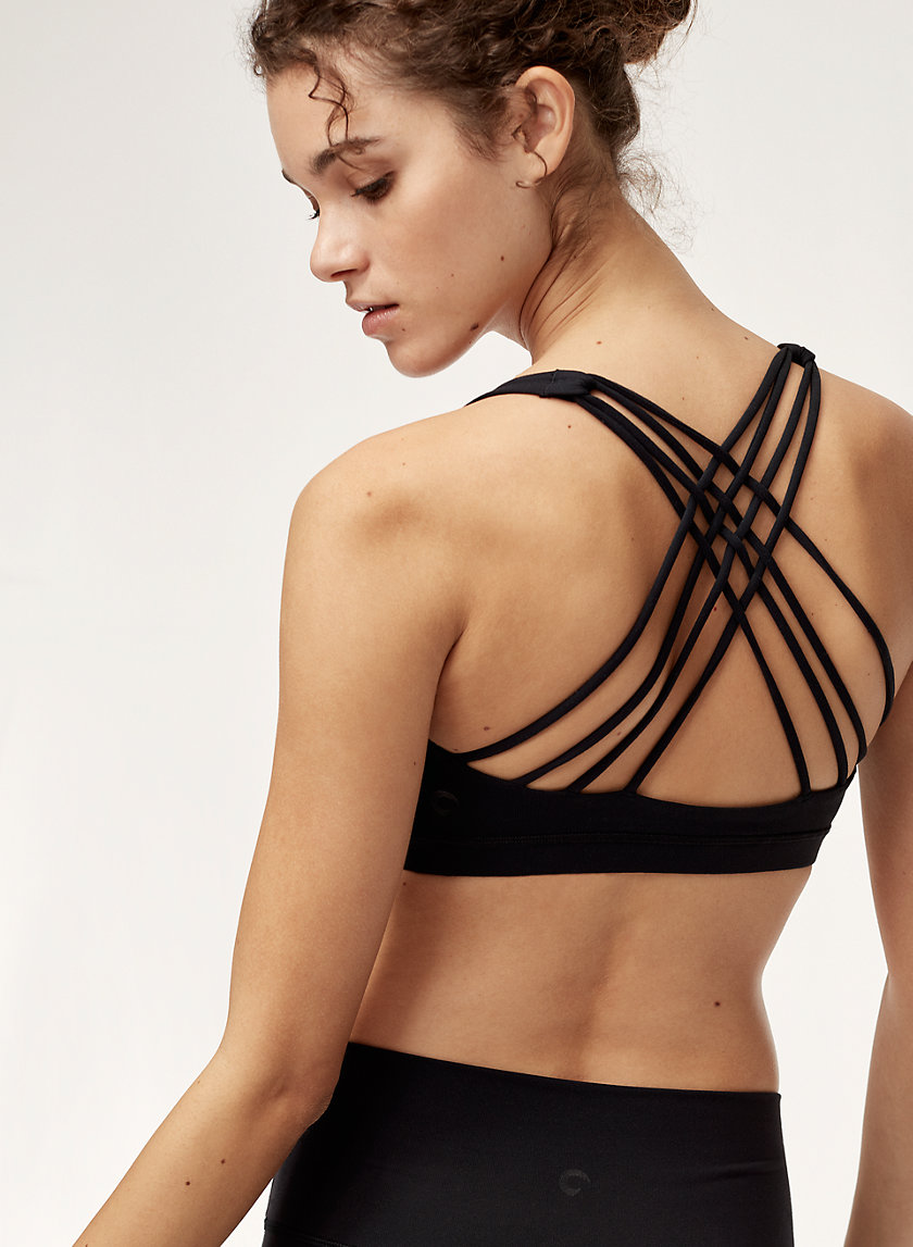 The Constant BOOST STRAPPY BRA | Aritzia