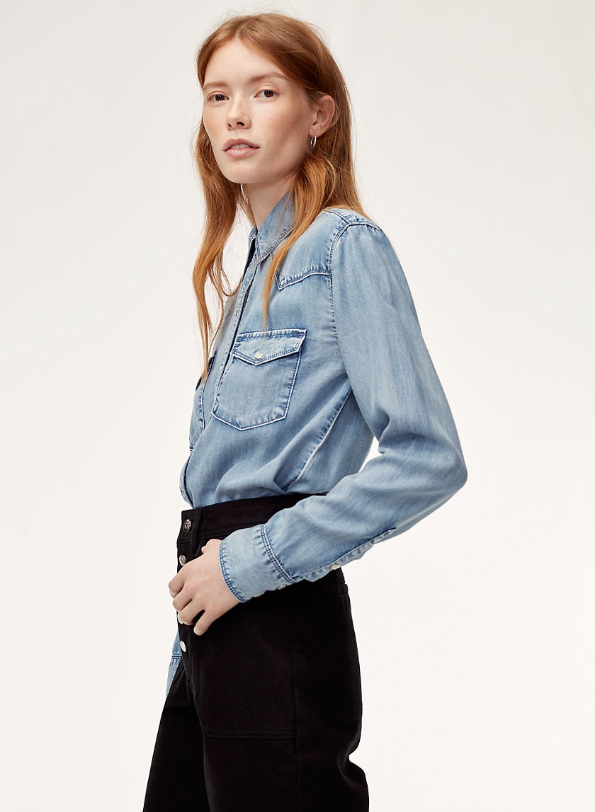 Wilfred Free OLIVERIA SHIRT | Aritzia
