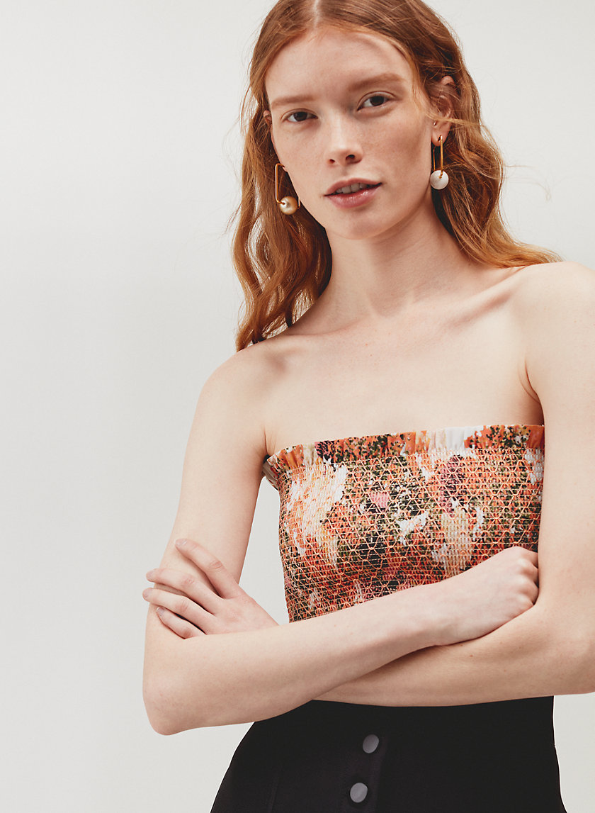 Le Fou Wilfred ORIEL TUBE TOP | Aritzia