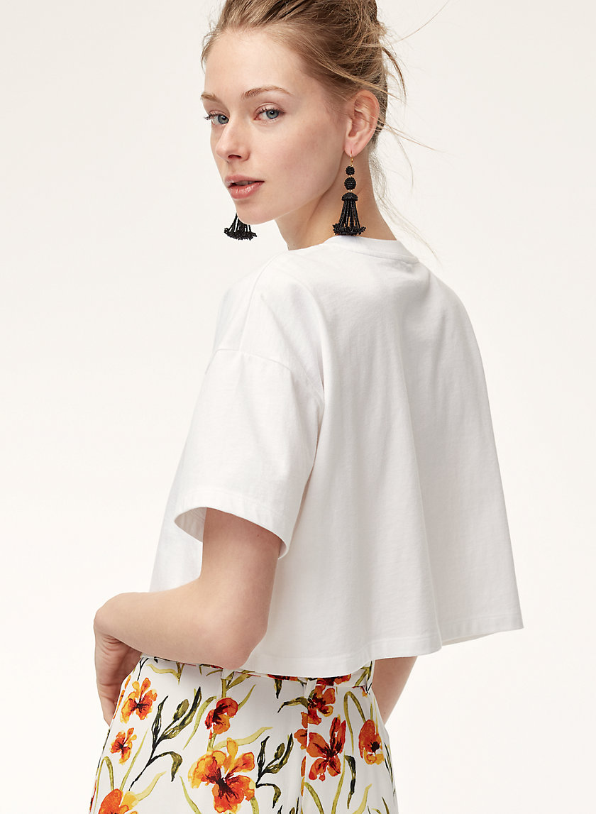 Little Moon IVY CROP T-SHIRT | Aritzia