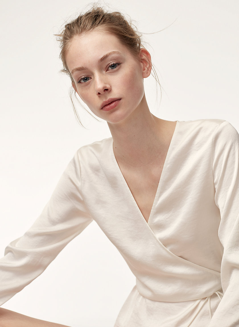 Little Moon ROSE BLOUSE | Aritzia